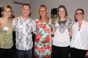 The Splash's Swimming School team with Tammy van Wisse