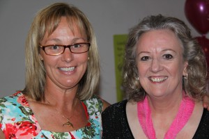 Sheridan Morris from Well Said & Associates and Tammy van Wisse