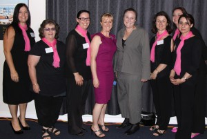 The Admin Angels team with Jane from The Cancer Council
